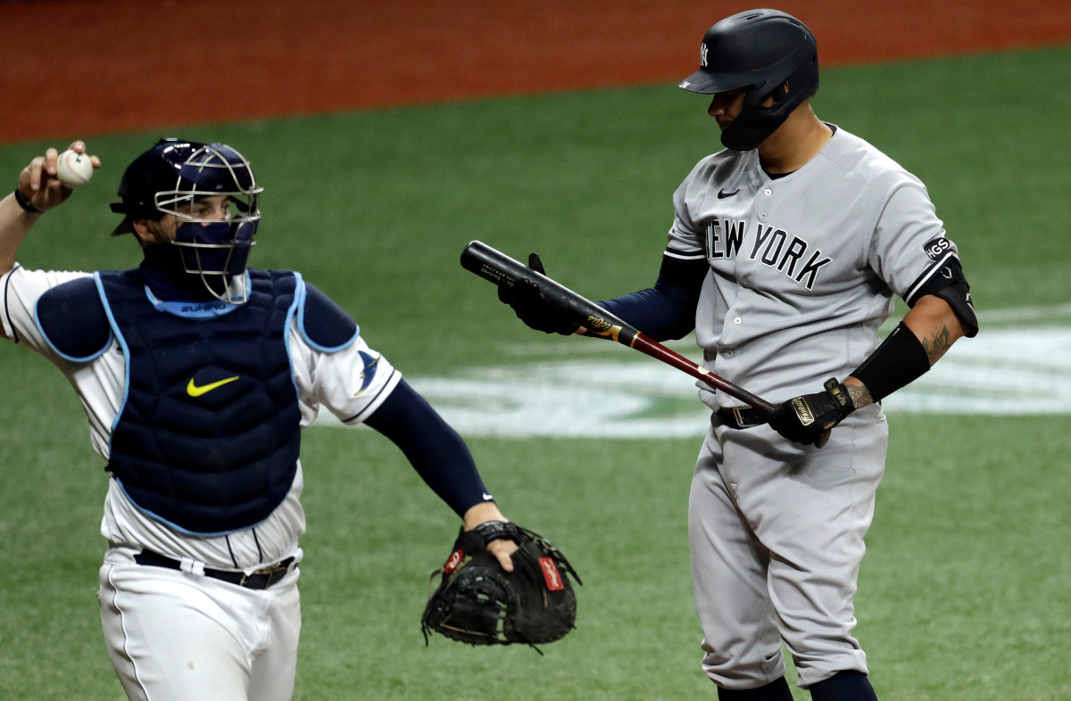 Struggling Gary Sanchez 'more in the fight' now