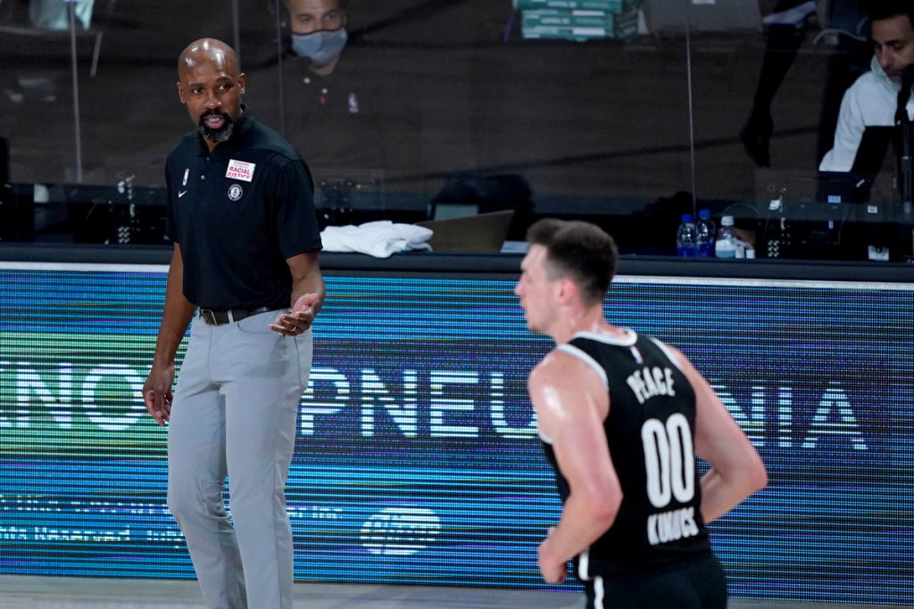Jacque Vaughn displaying how far he's occur with Nets shocking restart