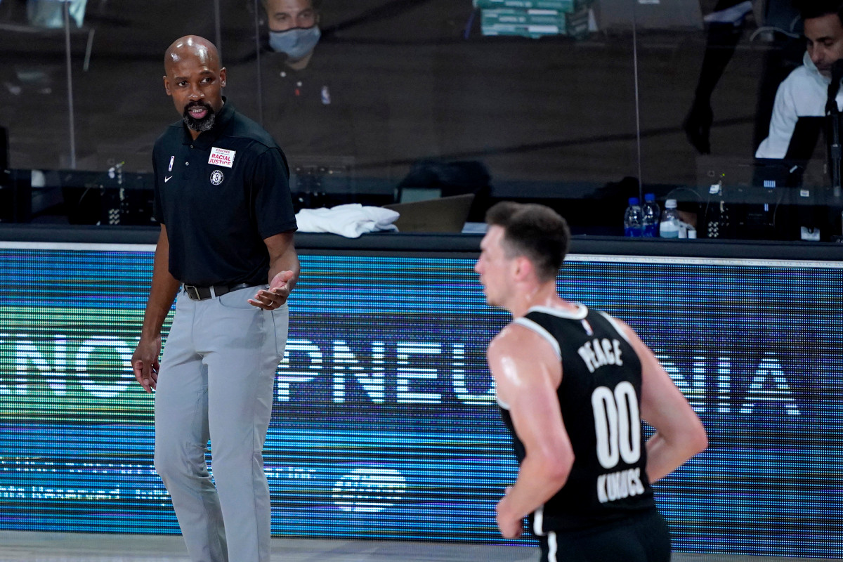 Jacque Vaughn showing how far he's come with Nets surprising restart