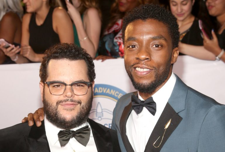 Josh Gad shares final text message sent from late co-star Chadwick Boseman