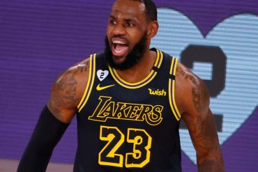 LeBron James had a game-high 30 points and 10 assists for the Lakers.