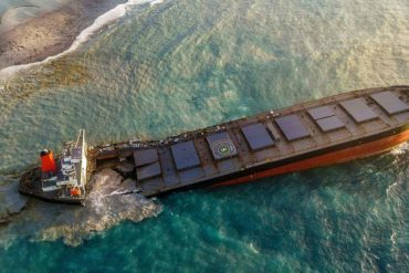 Mauritius oil spill: Cargo ship has split in two