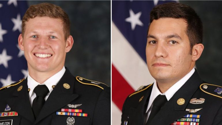 Army soldiers ID'd in fatal Black Hawk helicopter crash off California