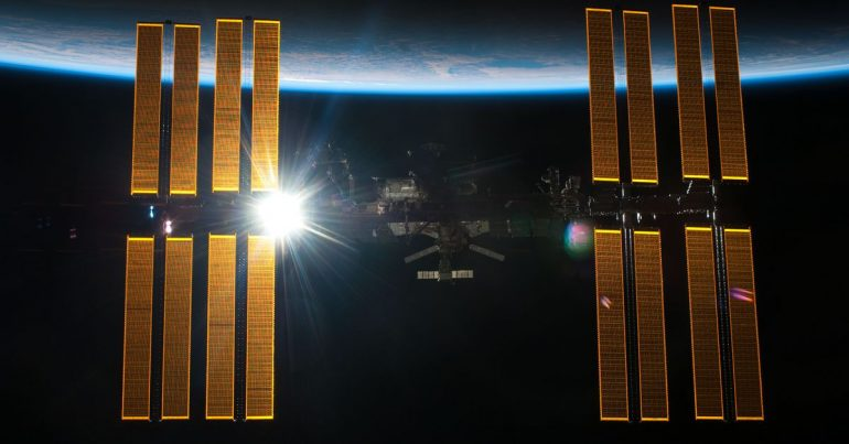 NASA is going to try to hunt down a leak on the International Space Station this weekend