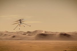 NASA's Mars helicopter completes critical checkup during journey through space