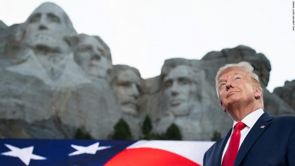 NYT: White Home arrived at out to South Dakota governor about including Trump to Mount Rushmore