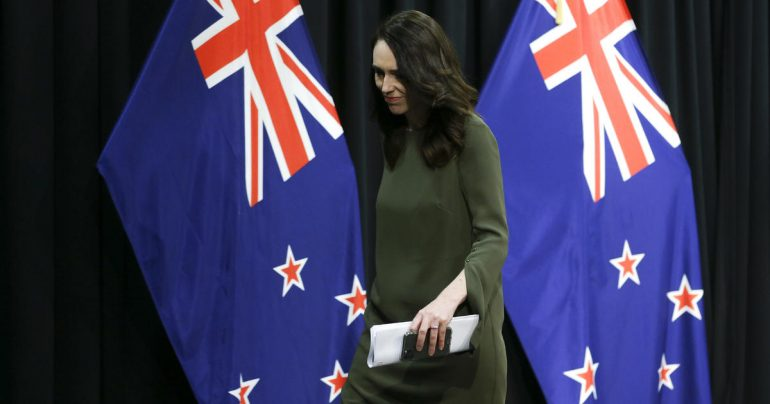 "New Zealand leader Jacinda Ardern calls Trump's claim of virus surge ""patently wrong"""