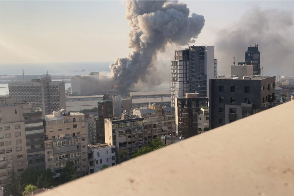 New footage reveals Beirut explosion up-shut and in sluggish motion