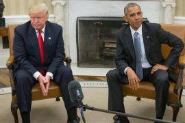 Obama accuses Trump of threatening US democracy