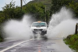 Status orange warning issued for 12 counties including Cork and Kerry