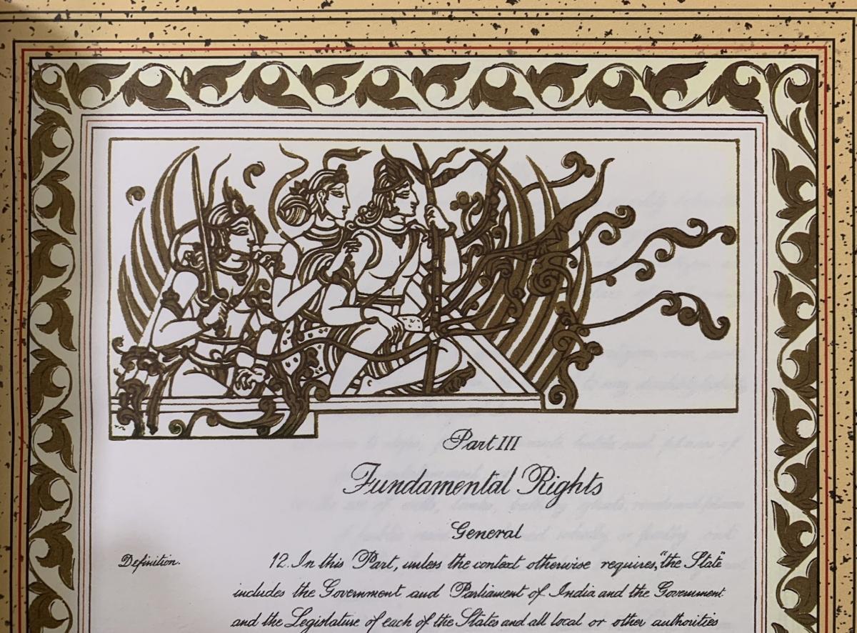 constitution document lord ram