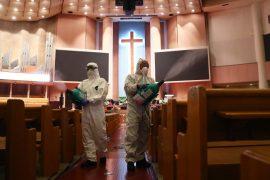 S Korea tightens virus curbs as global deaths pass 800k