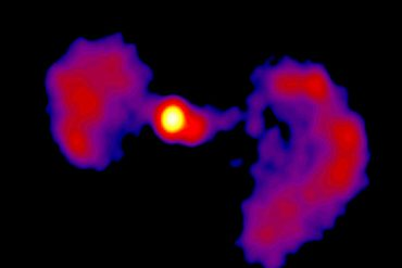 """Scientists take a closer look at the """"TIE Fighter"""" active galaxy"""