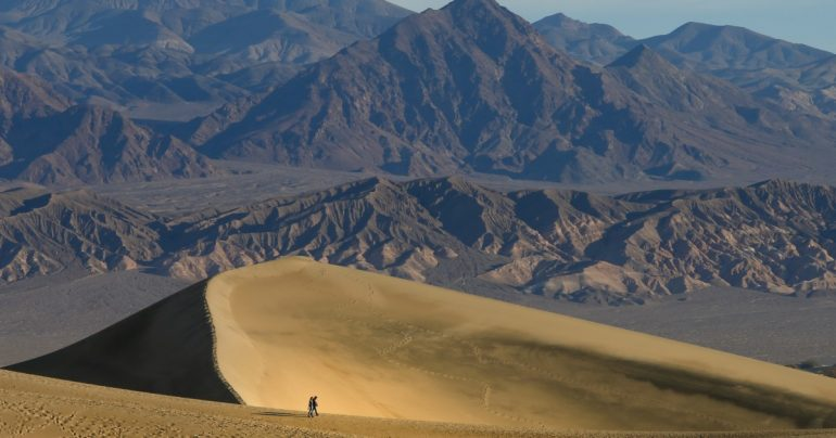Scorched Earth: Death Valley hits 130 degrees