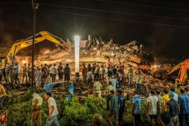 Building collapses in India's Maharashtra state, dozens feared trapped