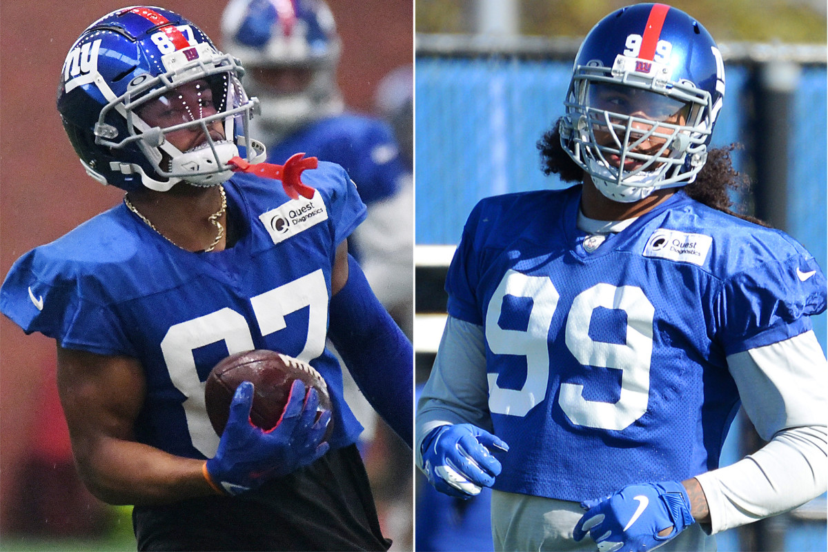 Sterling Shepard, Leonard Williams are suddenly Giants' elder statesmen