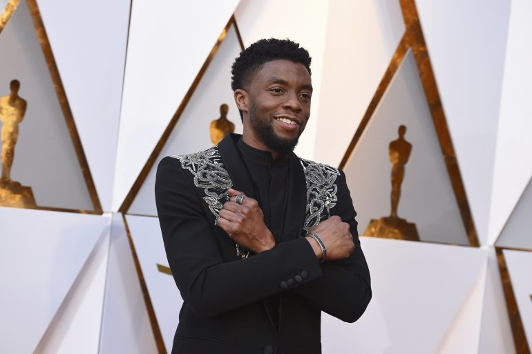 Tributes paid to Black Panther star Chadwick Boseman following death aged 43