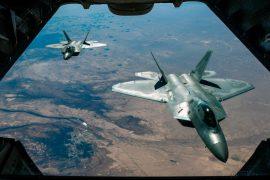 US jets intercept Russian military aircraft off Alaskan coast