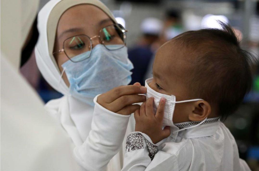 coronavirus positive kids