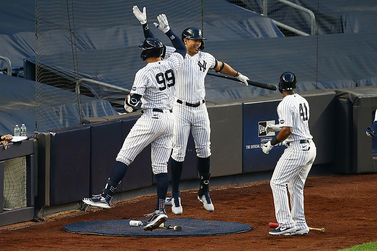 Yankees' Giancarlo Stanton hopes leaner frame helps him avoid injuries