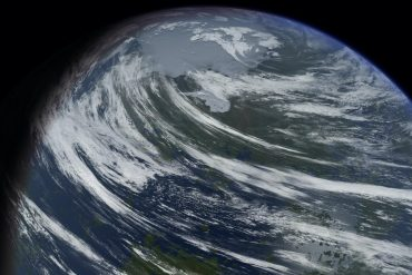 stunning terraforming image shows alternative to Mars