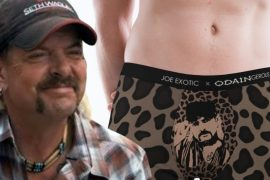 Joe launches lingerie fashion line with exotic crotch face