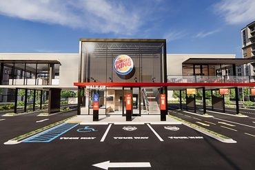 Triple Drive Thrust & Burger Lockers: Burger King Introduces New Designs