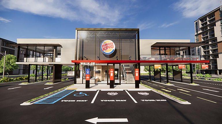 Triple Drive Thrust & Burger Lockers: Burger King Introduces New Designs