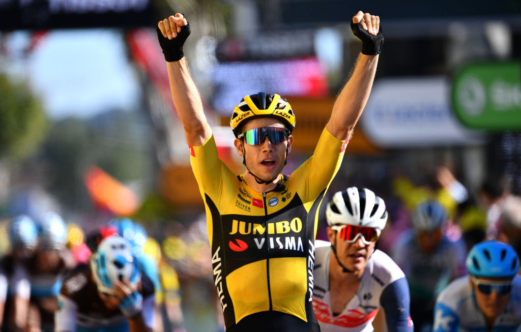LAVER FRANCE SEPTEMBER 04 BELGIUM COUNT OUT VAN ART AND 107th TOUR DE FRANCE 2020 STAGE 7 168 mm from LAVOR 168 km Stage on September 04, 2020 LAVORE LAVORE France Photo Stuart Franklin Getty Images