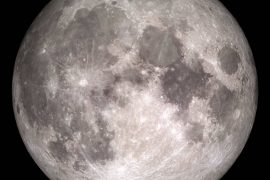 The moon is 'rusting', scientists are stunned