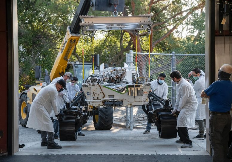 NASA's persistence Mars rover double motion
