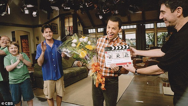 Two, one and a half men: Technically, Crier received two Emmy Awards for his portrayal of chiropractor Alan Harper in all 262 episodes of CBS sitcom that aired over 12 seasons from 2003-2015.