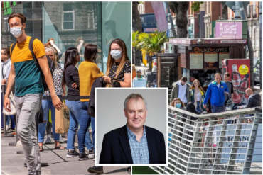 Corona virus in Ireland - Top professor says it is 'unreasonable' to ask public to wear masks on Dublin streets