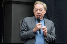 Lord Andrew Lloyd Webber attends the unveiling of the London Palladium's 'Wall Of Fame' in 2018