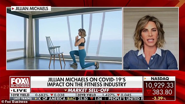 The 46-year-old Daytime Emmy nominee told the Fox Business: 'I'm been on guard for literally an hour with one of my best friends who does my hair and makeup ... I did not know I had it for six days [and] My friend did not know she had it when she gave it to me. '