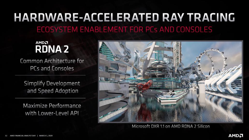 AMD Radeon RX RDNA2Navi GPU Family_Ray Tracing