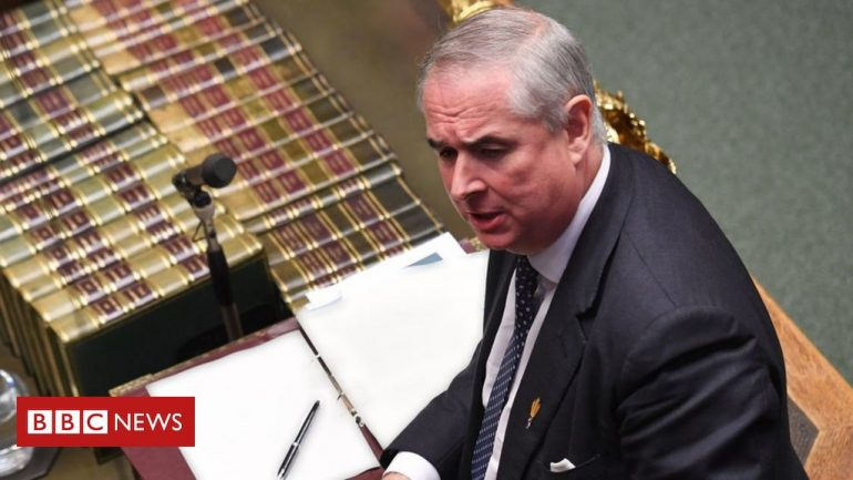 Brexit: Geoffrey Cox says bill will ruin UK's reputation