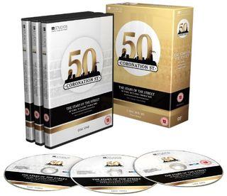 Stars on Coronation Street - 50 years, 50 classic characters [DVD]