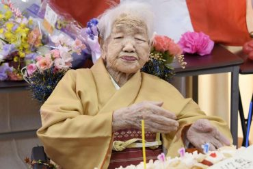 One in every 1,500 people in Japan is at least 100 years old