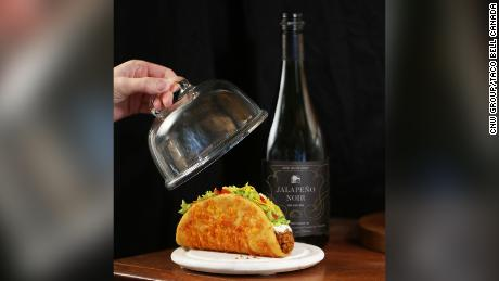 Taco Bell Canada sells jalapeno noir wine for a limited time.