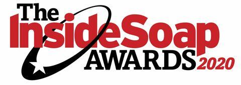 2020 logo within the Soap Awards