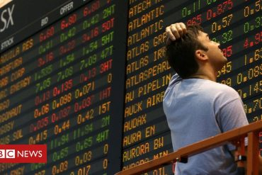 Asian stock markets continue to decline globally