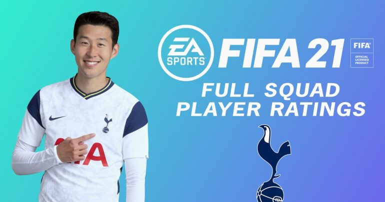 FIFA 21 Ratings: Tottenham Squad reveals player rankings, far behind Gareth Bale