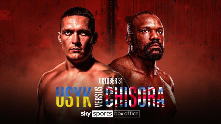 Alexander Usaik vs Derek Chisora confirmed on October 31, live at the Sky Sports box office |  Boxing news