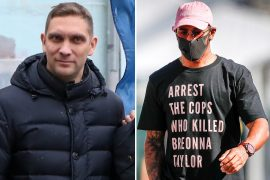 "Former F1 rival Vitaly Petrov has accused Lewis Hamilton's Briona Taylor and Black Lives Matter of being ""too much""."
