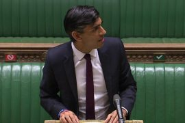 Rishi Sunak unveiled the emergency employment plan