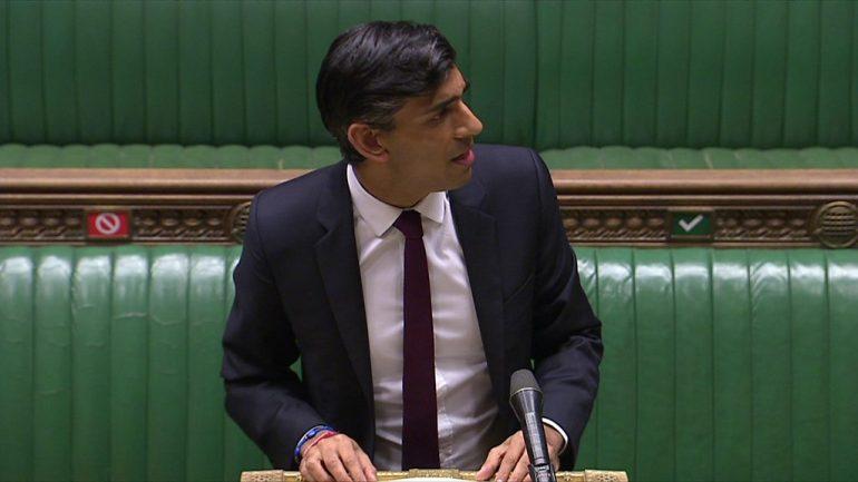 Rishi Sunak unveiled the emergency employment plan