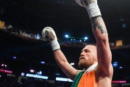 Connor McGregor says his next fight will be against Manny Pacquiao in the Middle East