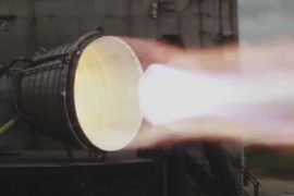Watch SpaceX's new Raptor vacuum engine burn out