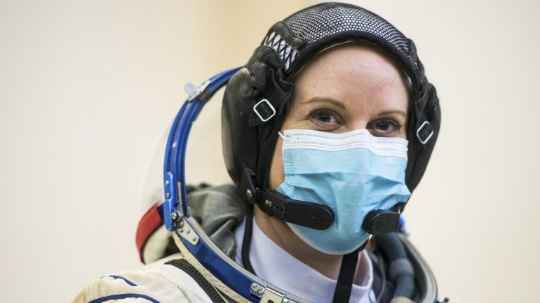 NASA astronaut to vote from space: NPR